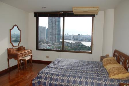 Newly Decorated 3 Bedroom Condo For Rent At Tridhos City Marina By The Chao Phraya River