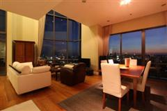 Beautiful 3 bedroom duplex with great panoramic view for sale at Bright Sukhumvit 24 Condominium Phrom Phong