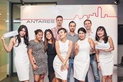 Antares Serviced Office: Thank You party