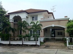 3 bedroom house for rent or sale a Canal Ville - House - Namdang-Bangplee Road - Srinakarin