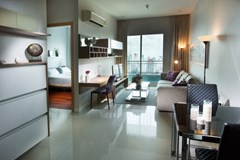 1 bedroom condo for sale with tenant at Circle Condominium - Condominium - Makkasan - Ratchathewi