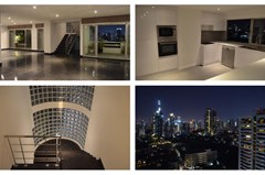 3 bedroom deplex penthouse for rent near EmQuartier - Condominium - Phrom Phong - Phrom Phong