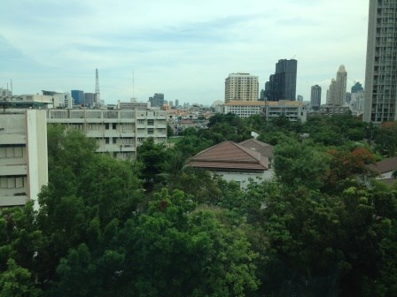 Nice view of Bangkok from the balcony