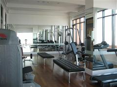 Fully equipped gym at the Aguston