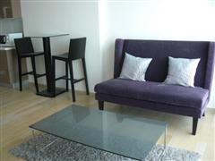 Furnished 1 bedroom at Siri at Sukhumvit to rent