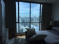 Nice bedroom with amazing view in Bangkok